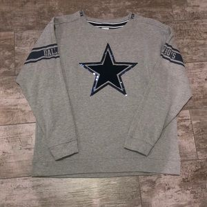 Victoria's Secret Pink Dallas Cowboys Sweatshirt